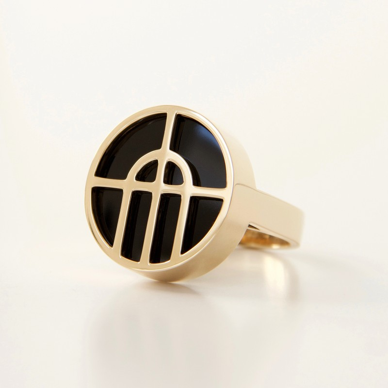 Arcature Ring / Onyx