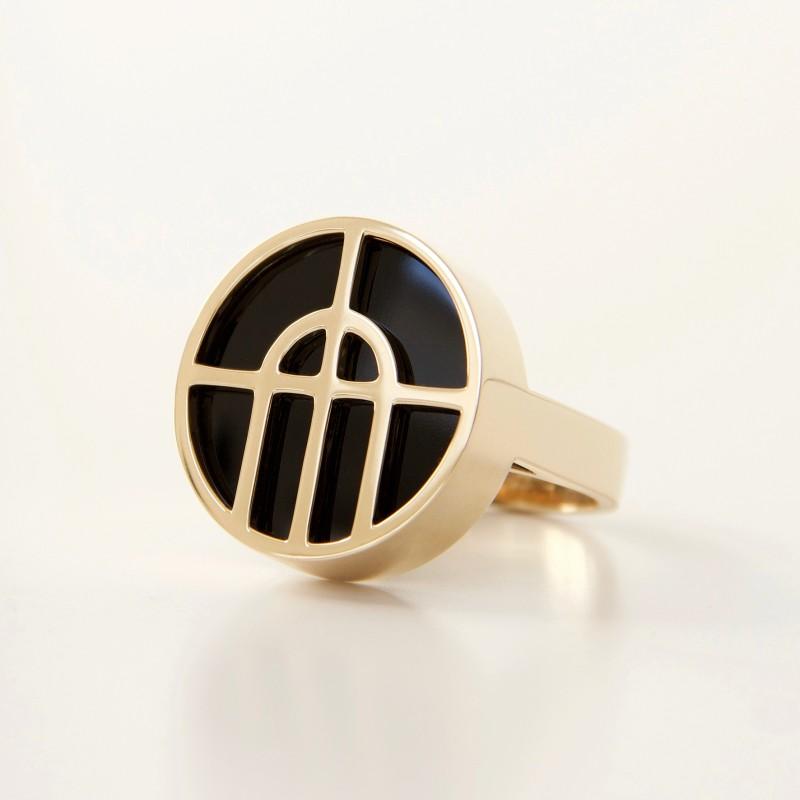 Arcature Ring / Onyx