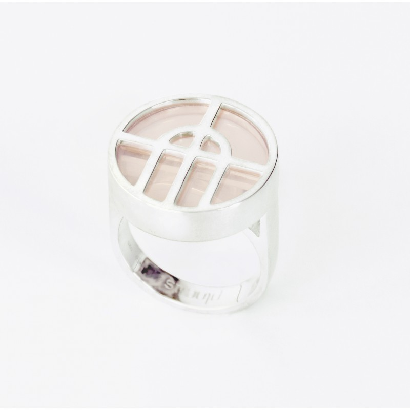 Arcature Ring / Rose Quartz